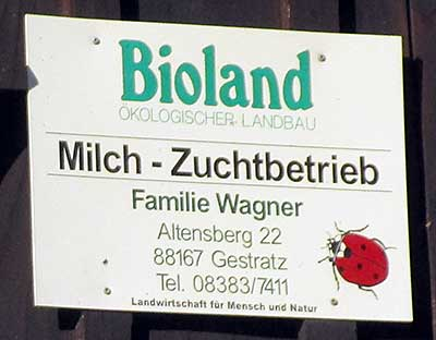Bioland Zuchtbetrieb in Altensberg Gestratz 2016